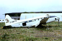 G-AWFM @ EGKB - De Havilland DH.104 Dove 6 [04079] Biggin Hill~G 17/05/1981. From a slide.