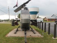 67-15683 - AH-1F Cobra in Sydney Ohio at a VFW hall - by Florida Metal