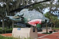 67-15722 - AH-1F in Veterans Park Tampa FL - by Florida Metal