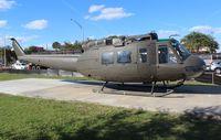 70-2468 - HH-1H in Okeechobee FL veterans park - by Florida Metal