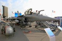 128 @ LFPB - Dassault Rafale C, Static display, Paris-Le Bourget (LFPB-LBG) Air show 2015 - by Yves-Q