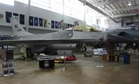 79-0334 - F-16A at Battleship Alabama - by Florida Metal