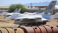 81-0772 @ DMA - F-16A - by Florida Metal