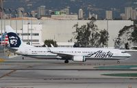 N468AS @ KLAX - Boeing 737-900ER - by Mark Pasqualino