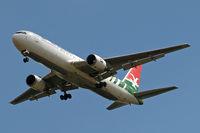 S7-AHM @ EGLL - Boeing 767-37DER [26328] (Air Seychelles) Home~G 15/05/2010. On approach 27R.