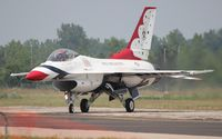 92-3881 @ YIP - F-16C - by Florida Metal