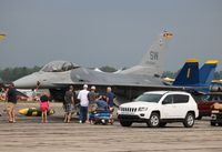 93-0540 @ YIP - F-16C - by Florida Metal
