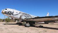 N105BF @ DMA - C-117D with artwork