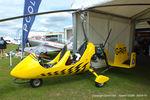G-PAFF @ EGBK - at Aeroexpo 2015 - by Chris Hall