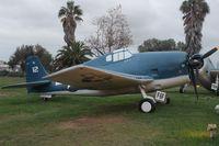 71812 @ LAX - F6F-5N replica at Proud Bird - by Florida Metal