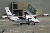 2312 @ ELLX - 2312   LET L-410UVP-E14 Turbolet [892312] (Czech Air Force) Luxembourg-Findel~LX 21/06/2011