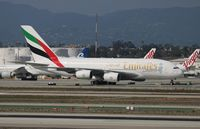 A6-EOG @ LAX - Emirates - by Florida Metal