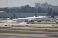 A7-BAB @ MIA - Qatar One World - by Florida Metal