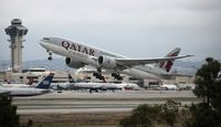 A7-BFF @ LAX - Qatar Cargo - by Florida Metal
