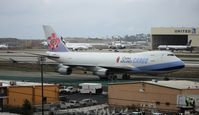B-18701 @ LAX - China Airlines Cargo