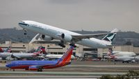 B-KPK @ LAX - Cathay Pacific - by Florida Metal