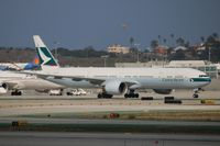 B-KQW @ LAX - Cathay Pacific - by Florida Metal
