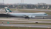 B-LJL @ MIA - Cathay Cargo - by Florida Metal