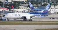 CC-BBC @ MIA - LAN Dreamliner - by Florida Metal