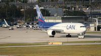 CC-BDD @ MIA - LAN 767-300 - by Florida Metal