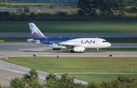 CC-CYL @ MCO - LAN A319 - by Florida Metal