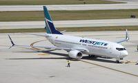 C-FCSX @ FLL - West Jet