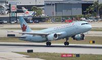 C-FKCR @ FLL - Air Canada - by Florida Metal