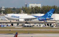 C-GPAT @ FLL - Air Transat