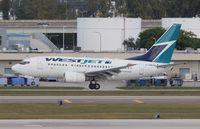 C-GWJU @ FLL - West Jet - by Florida Metal