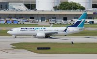 C-GWRG @ FLL - West Jet - by Florida Metal