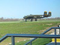 N345BG @ KPCW - Departing Port Clinton, OH - by Bob Simmermon