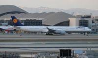 D-AIHL @ LAX - Lufthansa - by Florida Metal
