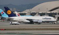 D-AIMM @ LAX - Lufthansa