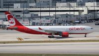 D-ALPF @ MIA - Air Berlin
