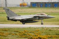 11 @ LFRJ - Dassault Rafale M, Taxiing after landing rwy 26, Landivisiau Naval Air Base (LFRJ) - by Yves-Q