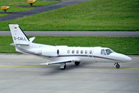D-CALL @ LSZH - Cessna Citation Bravo [550-0834] Zurich~HB 31/08/2014