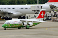 HB-IYS @ LSZH - British Aerospace BAe 146-RJ100 [E3381] (Swiss European Air Lines) Zurich~HB 31/08/2014