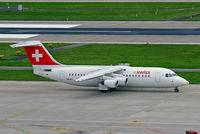 HB-IXV @ LSZH - British Aerospace BAe 146-RJ100 [E3274] (Swiss European Air Lines) Zurich~HB 31/08/2014