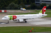 CS-TNX @ LSZH - Airbus A320-214 [2822] (TAP Portugal) Zurich~HB 31/08/2014 - by Ray Barber