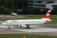 HB-IJU @ LSZH - Airbus A320-214 [1951] (Swiss International Air Lines) Zurich~HB 31/08/2014