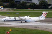9A-CQA @ LSZH - De Havilland Canada DHC-8Q-402 [4205] (Croatia Airlines) Zurich~HB 31/08/2014 - by Ray Barber