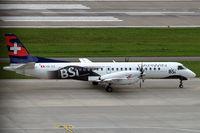 HB-IZZ @ LSZH - SAAB 2000 [048] (Darwin Airline) Zurich~HB 31/08/2014