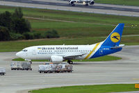 UR-GAZ @ LSZH - Boeing 737-55D [27418] (Ukraine International Airlines) Zurich~HB 31/08/2014