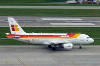 EC-LEI @ LSZH - Airbus A319-111 [3744] (Iberia) Zurich~HB 31/08/2014