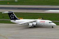 HB-IYU @ LSZH - British Aerospace BAe 146-RJ100 [E3379] (Swiss European Air Lines) Zurich~HB 31/08/2014