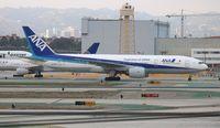 JA715A @ LAX - ANA 777-200