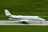 YU-SPC @ LSZH - Cessna Citation Excel S+ [560-6136] Zurich~HB 31/08/2014