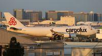 LX-ECV @ LAX - Cargolux - by Florida Metal