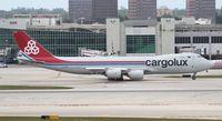 LX-VCG @ LAX - Cargolux