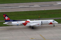 HB-IZJ @ LSZH - SAAB 2000 [015] (Darwin Airlines) Zurich~HB 31/08/2014 - by Ray Barber